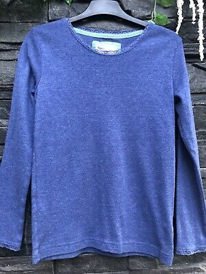 Johnnie B Mini Boden Girls Top Age 11-12 Years Blue