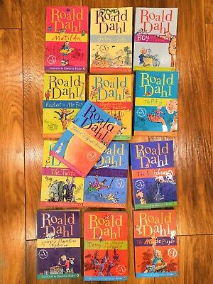 Roald Dahl Collection 15 Books Boxed Set (Paperback, 2016)