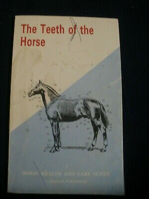 "HORSE BOOK - ""THE TEETH OF THE HORSE"" plus wall poster"