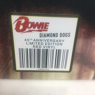 DAVID BOWIE - DIAMOND DOGS (2019)  RED VINYL LP LIMITED 45th ANNIVERSARY EDITION