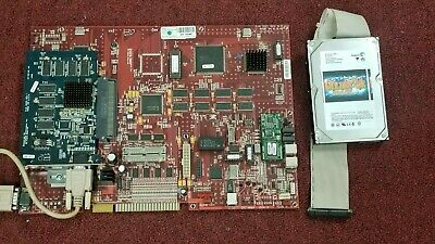Golden Tee Complete 2006 Jamma Arcade Red Circuit Board & Hard Drive Pcb #368