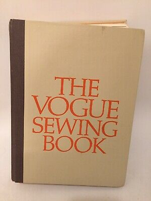 Vintage The Vogue Sewing Book 1973 Book Free Shipping
