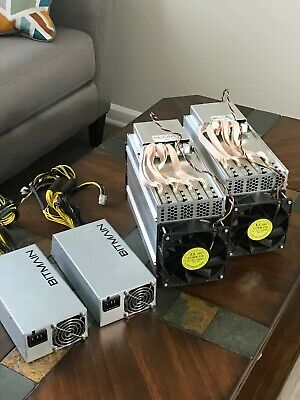Antminer L3+ Miner Litecoin ASIC Scrypt w/ Power Supply PSU USA
