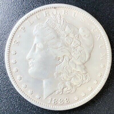 1888 Morgan Silver Dollar 90% Silver $1 Coin Us #S11