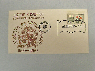 Canada Stamps  First Day Cover 1980  Edmonton Stamp Show