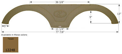 12248 Fender Skirt Taupe