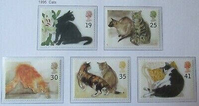 Royal Mail Stamps, Cats 1995. Unmounted Mint
