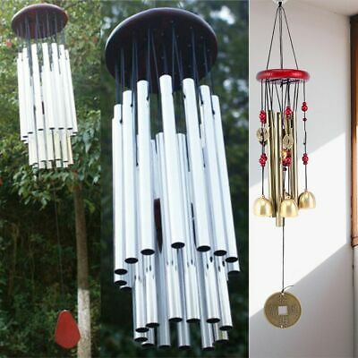Large Church Tube Wind Chimes Bells Aluminum Hanging Garden Yard Decor Outdoor
