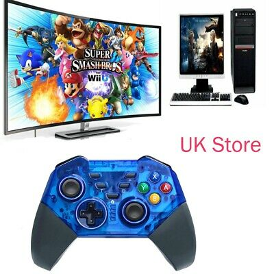 UK Wireless Pro Controller Gamepad Joypad Gaming Remote for Nintendo Switch Lite
