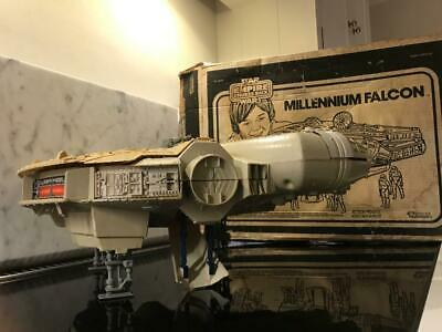 Vintage 1981 Star Wars Empire Strikes Back ESB Millennium Falcon Boxed Kenner