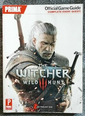 The Witcher 3: Wild Hunt - Prima Official Game Guide in great condition