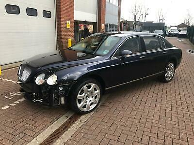 2008 **08** Bentley Continental 6.0 W12 Flying Spur SALVAGE DAMAGED REPAIRABLE