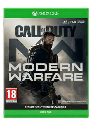 Xbox One Call Of Duty: Modern Warfare (CAJA PRECINTADA)