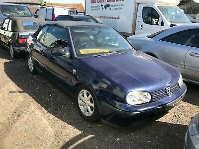 Volkswagen Golf Cabriolet Convertible MK3 Facelift 2.0  2dr FOR SPARES OR REPAIR