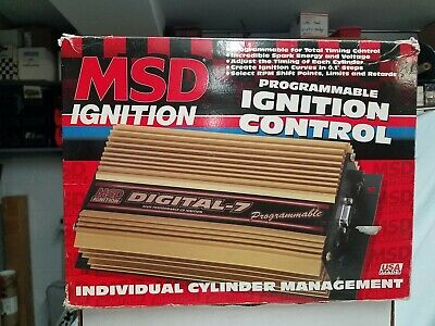 MSD Ignition 7531 Digital-7 Plus Programmable Ignition Control