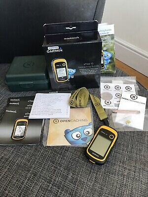Garmin eTrex 10 Geocaching Bundle Starter Kit Treasure Hunt