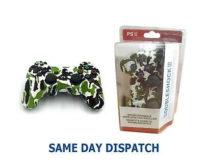 PS3 Army black Camouflage Dual Shock 3 Wireless Controller Limited Edition