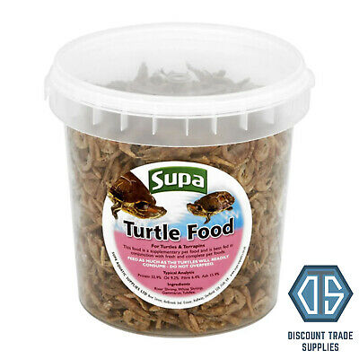 Supa Supplementary Turtle Food 1L Superior Mixed Shrimps for Turtles & Terrapins