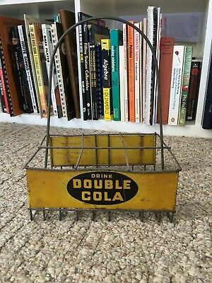 Rare Double Cola Bottle Carrier Not Coca-Cola Or Pepsi
