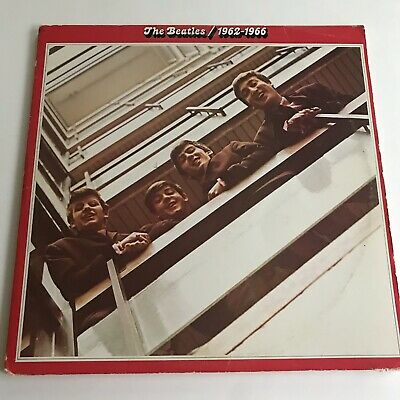 The Beatles 1962-1966 Double LP Red Vinyl 1973 EMI Records Limited A3577