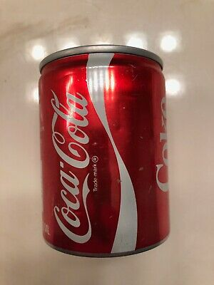 Vintage Empty 8oz Coca Cola Coke All Aluminum Can - Opened from Top