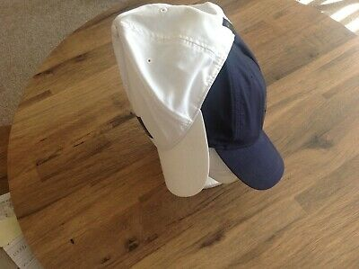 Pair of Quiksilver Ball Capa Navy and White adjustable
