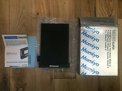 Mamiya 645 Super and 645 Pro Polaroid Back (boxed - perfect)