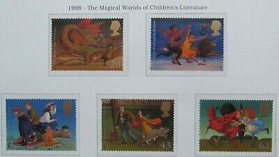 Royal Mail Unmounted Mint Stamps,The Magical World of Childrens Literature 1998