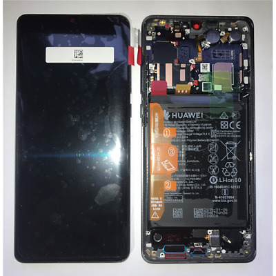 Display Lcd + Touch Screen Schermo Originale Huawei P30 Pro Nero Service Pack