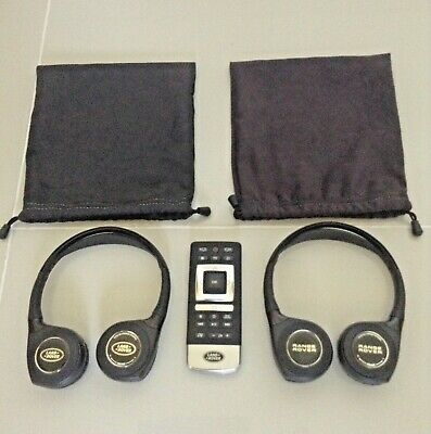 Land Rover Discovery Headphones Remote Wireless Rear Entertainment Tv Dvd Sport