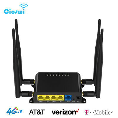WE826-T2 With EC25-AF Chip 4G LTE Router 4G Modem SIM Card ATT T-Mobile Verizon