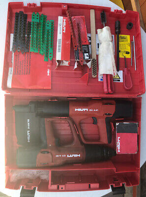Hilti DX A41 & Hilti DX A40 With Box And Some Nails And Caps