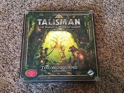 Talisman 4th Ed The Woodland Expansion Boardgame Games Workshop