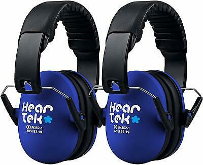 Kids Earmuffs Hearing Protection with Travel Bag- Junior Ear Defenders (BLue)