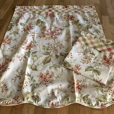 Better Homes Window Curtains Pair 30x36 Floral