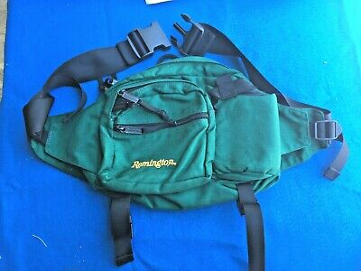 Remington Firearms Green Fanny Pack Excellent Condition