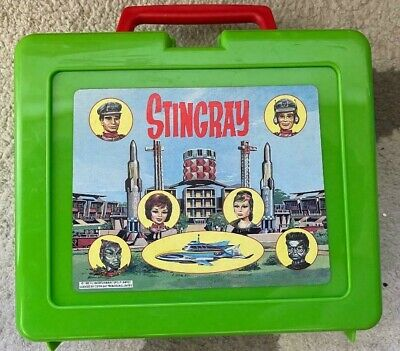 STINGRAY Lunchbox With Original Flask & sandwich box Gerry Anderson Vintage 1992