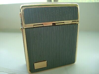 VINTAGE- SPRING OPEN TOP- WINDMILL BRAND METAL/Plastic Wrapped CIGARETTE CASE