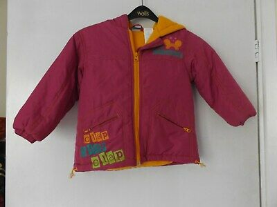 Disney Minnie Mouse coat / jacket aged 2 Years
