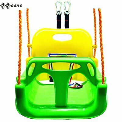 BBCare 3-in-1 Child to Teenager Secure Swing with Snap Hooks and Hanger Belts