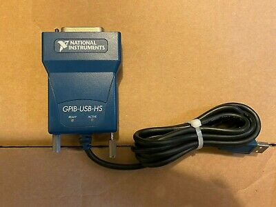 National Instruments GPIB-USB-HS USB Interface Adapter Controller