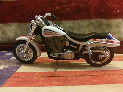 Evel Knievel 1970s Stunt Cycle King Diecast 1:24 Evil Motorcycle Street Bike #1