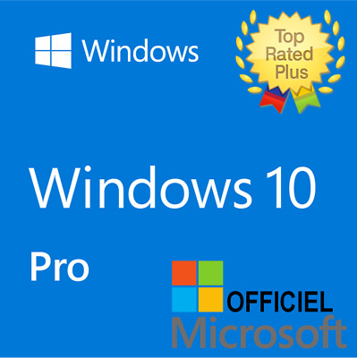 Microsoft Windows 10 Pro Professional 32-/64bit Genuine License Key Instant