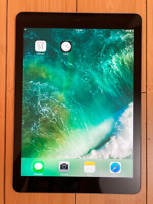 Apple iPad Air 1st Gen. 16GB, WiFi, 9.7in - Space Gray / Black, with cble/charge