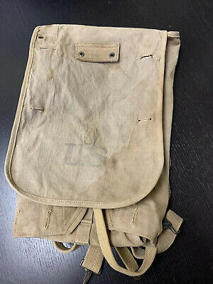 WW1 U.S. Doughboy 100% ORIGINAL Feb. 1918 dated M1910 Haversack
