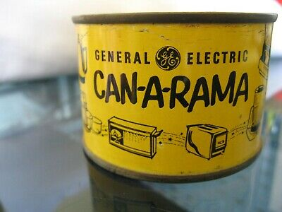 Rare General Electric GE Can-a-Rama Mystery Can with X-Ray