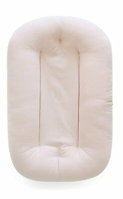 Snuggle Me Organic Bare | Baby Lounger & Infant Floor Seat sensory lounger