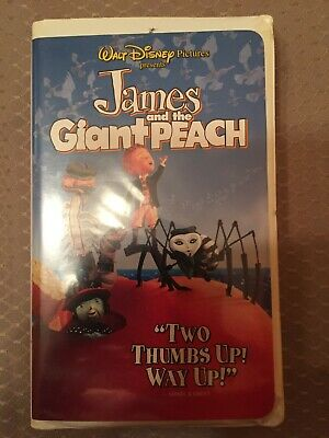 James and the Giant Peach (VHS, 1996)
