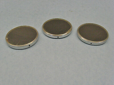 Lot of 3 Vintage Microscope Mirrors