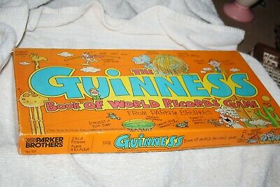 Board game GUINNESS WORLD RECORDS GAME